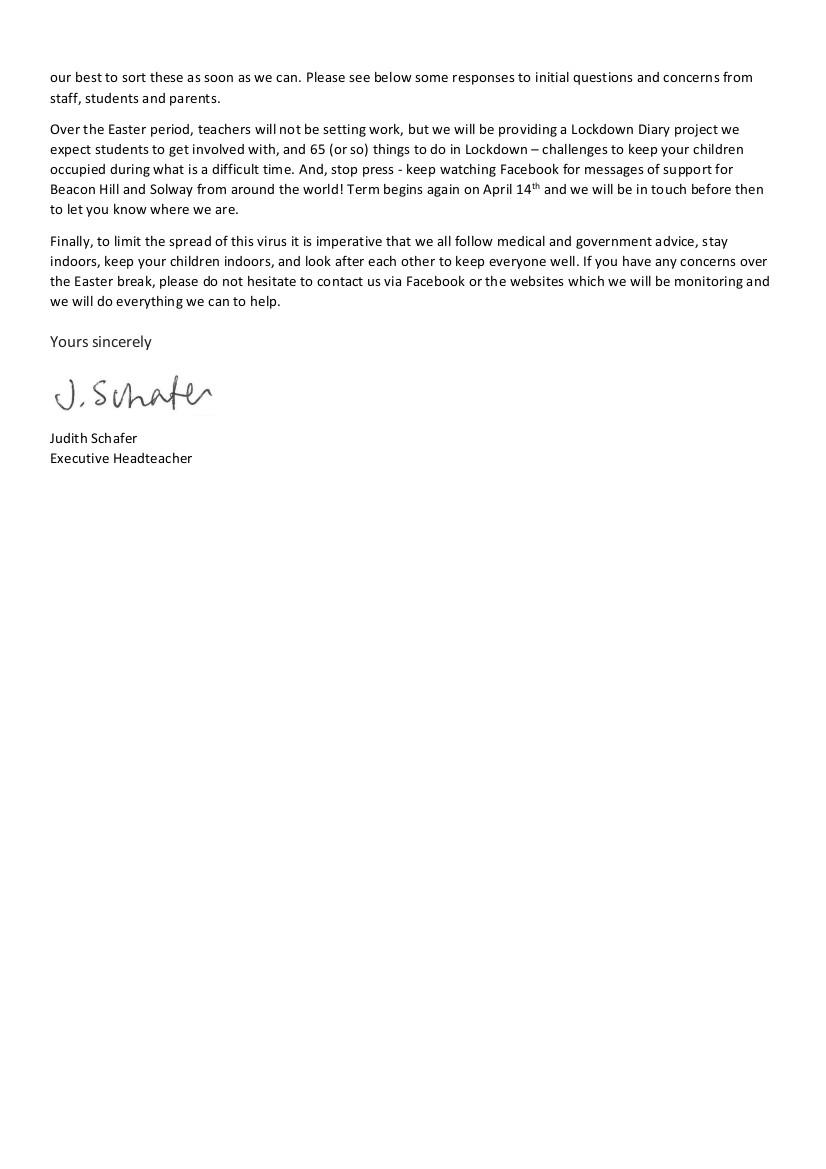 End of Term Letter 270320 part2