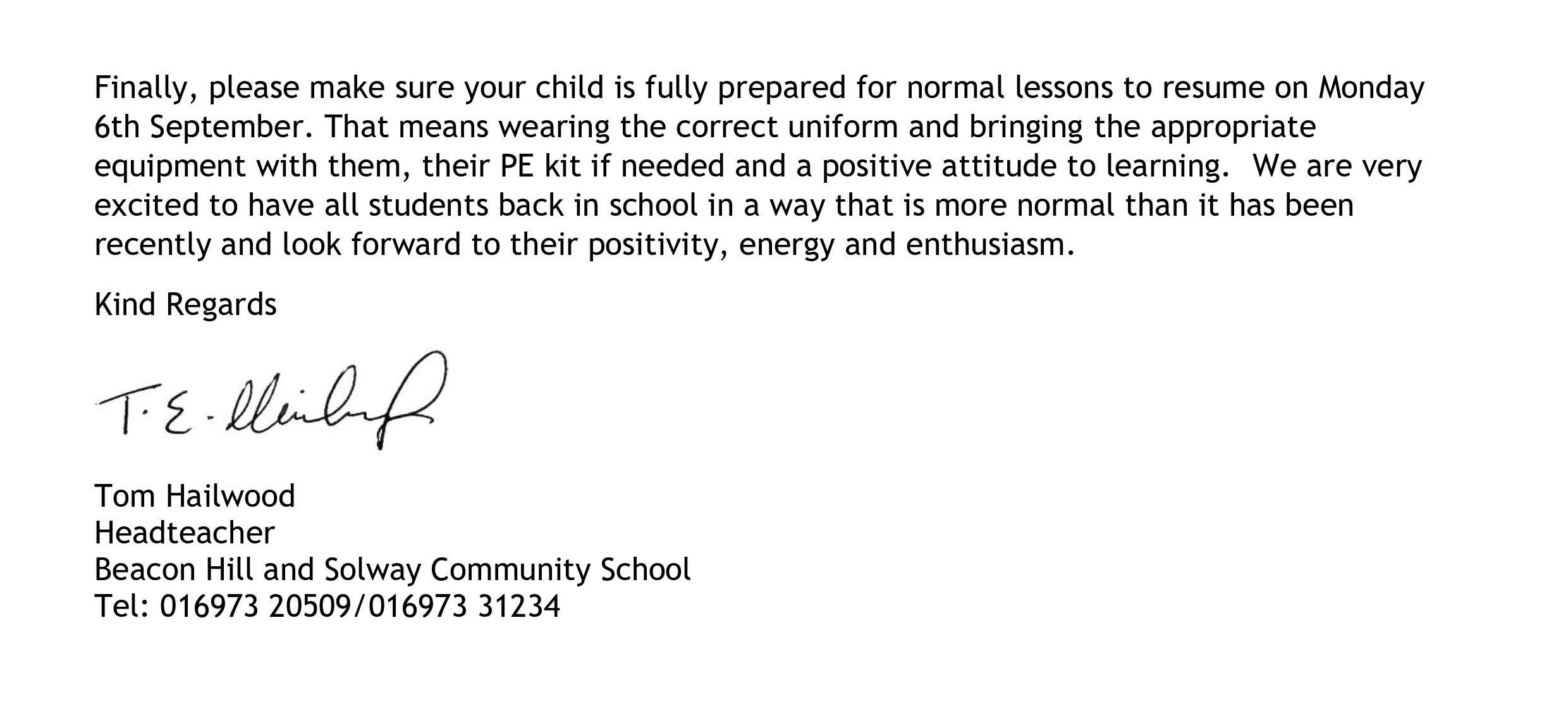 Letter to parents TH beginning of term 030921 (pg2)