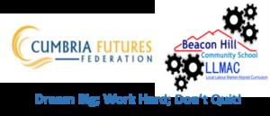 Beacon Hill logo with dream big work hard added